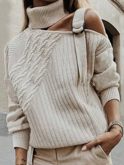 Regular Long Sleeve Fashion Women's Sweater