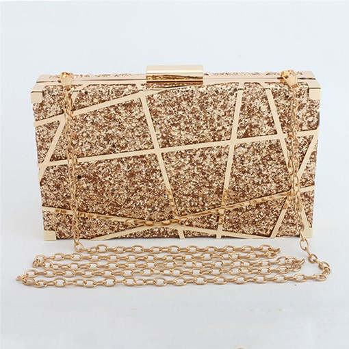 Rectangle Sequins Versatile Clutches & Evening Bags