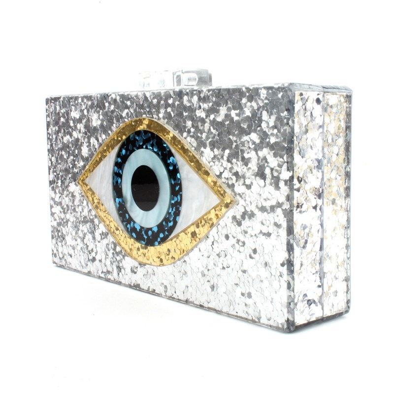 Rectangle Sequins Banquet Clutches & Evening Bags