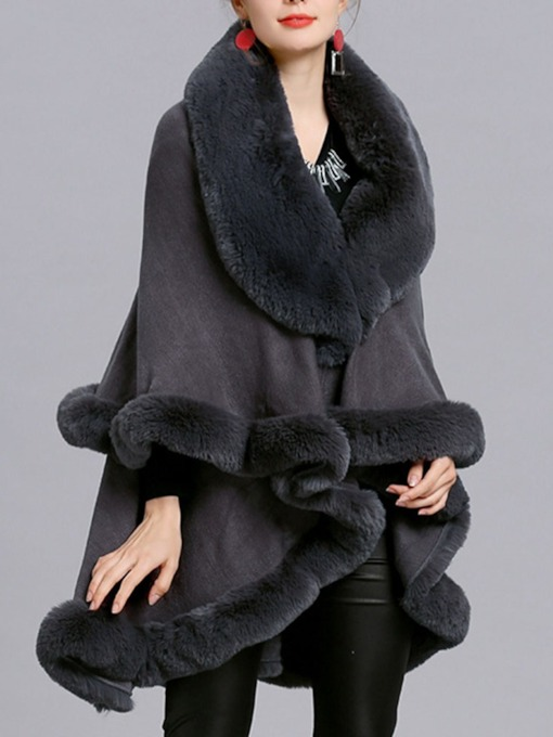 Ladylike Polyester Fall Women's Cape