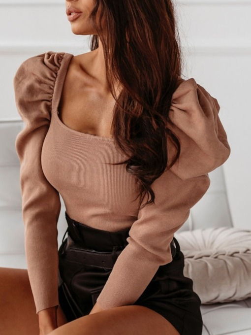 Regular Thin Slim Fashion Women's Sweater