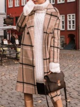 Loose Double-Breasted Winter Women's Overcoat