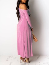 Casual Plain Sexy Bodycon Women's Two Piece Sets