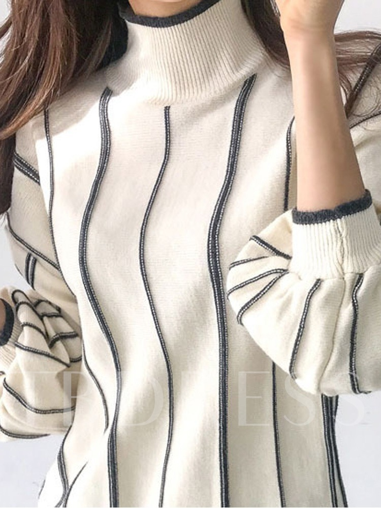 Polyester Standard Straight Women's Sweater