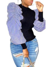 pull femme patchwork automne