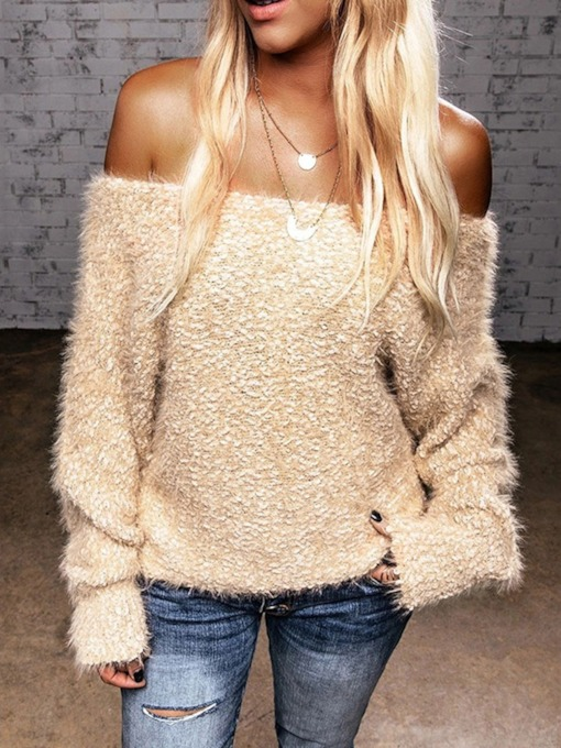 Faux Fur Women's Sweater