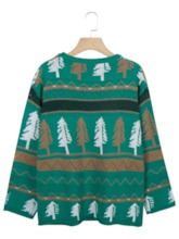 Regular Mid-Length Christmas Women's Sweater