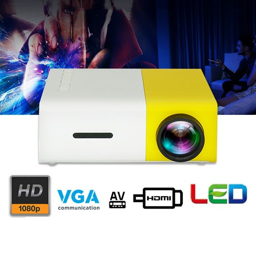 Home Projector Office YG300 Projector HD 1080P Mini Projector