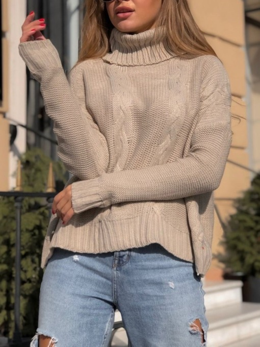 Regular Turtleneck Women's Sweater
