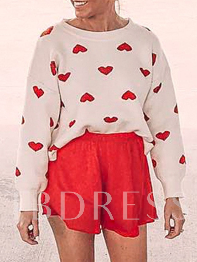 Loose Red Heart Women's Sweater