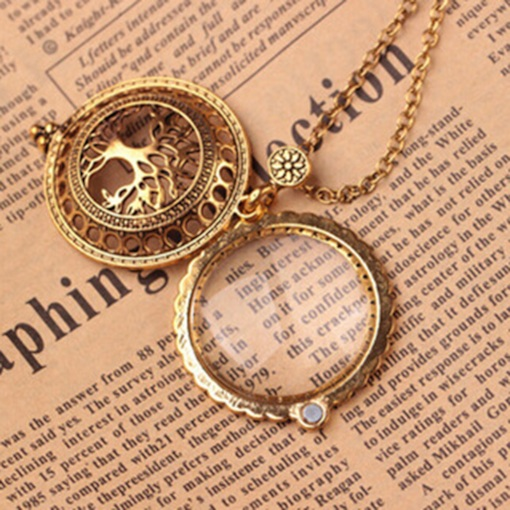 Vintage Hollow Out Unisex Pendant Necklace