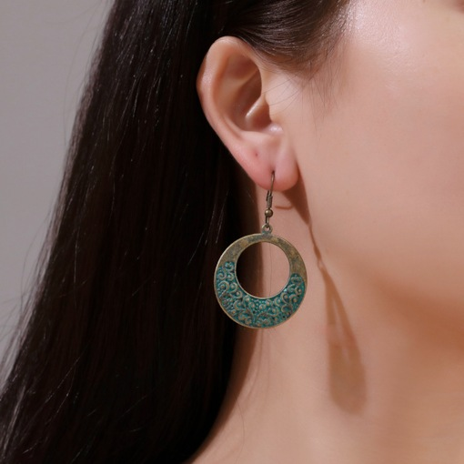 Alloy Vintage E-Plating Birthday Drop Earrings