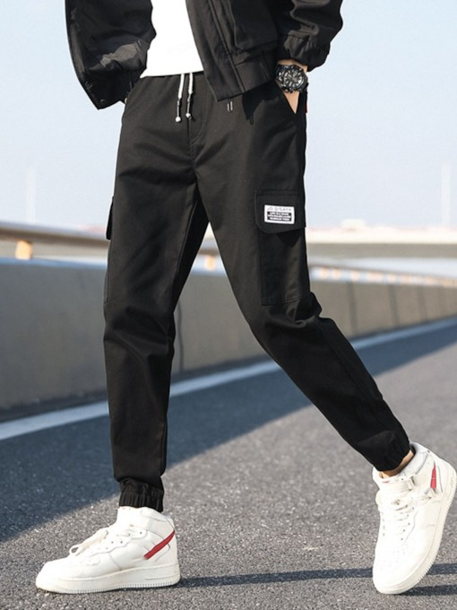 Pocket Style Winter Men's Casual Pants