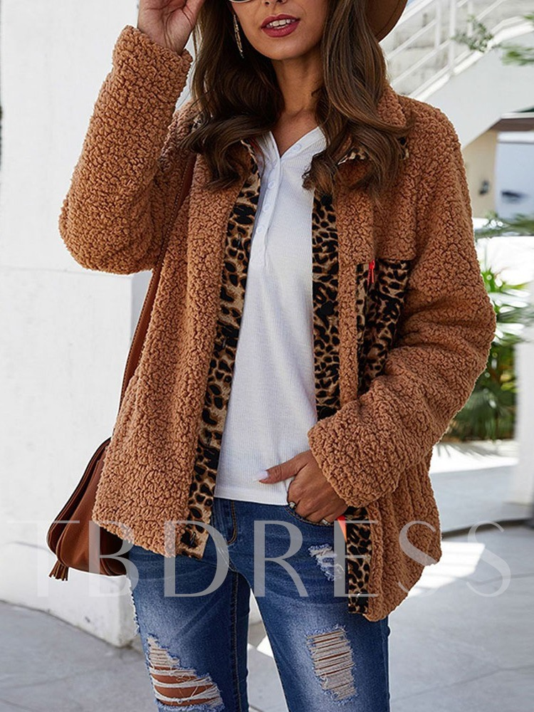 Thick Straight Single-Breasted Standard Women's Jacket