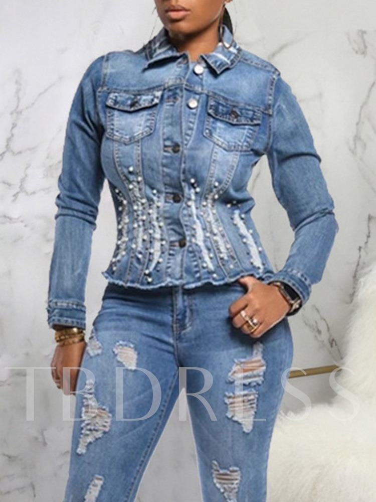 Cowboy Single-Breasted Slim Lapel Women's Jacket
