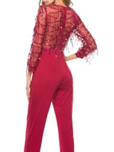 Casual Ankle Length Slim Women's Jumpsuit