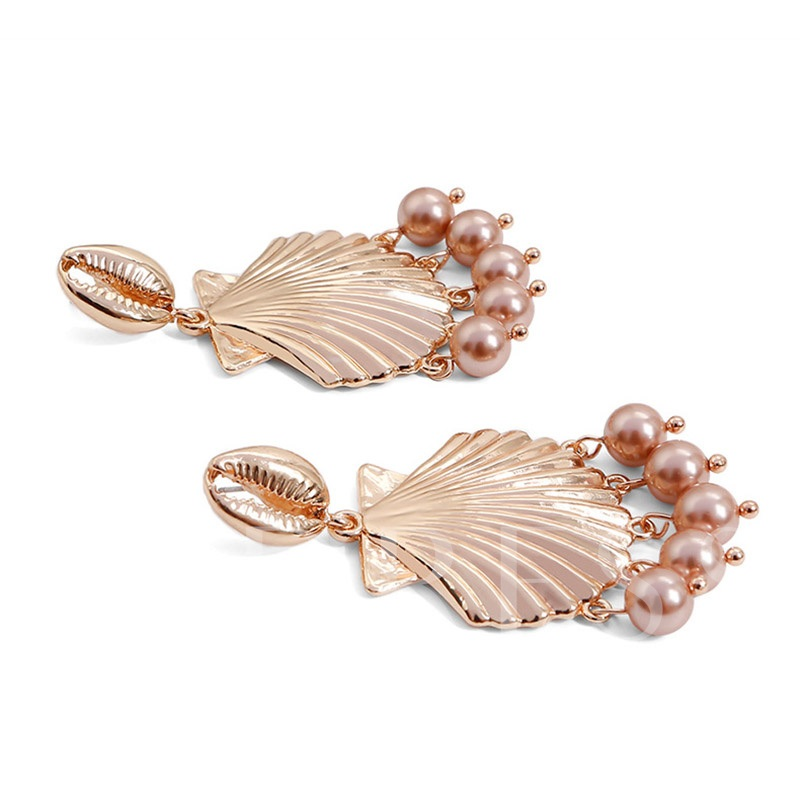 Alloy Sweet E-Plating Prom Drop Earrings