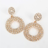 European Geometric Diamante Gift Earrings