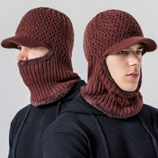 Woolen Yarn Fashion Men's Knitted Hat