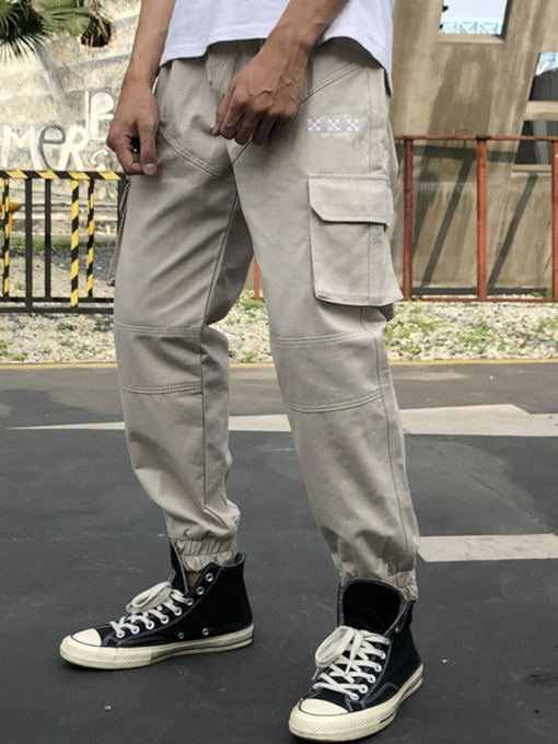 Pocket Style Men's Casual Pants