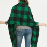Tassel Casual Plaid Scarves