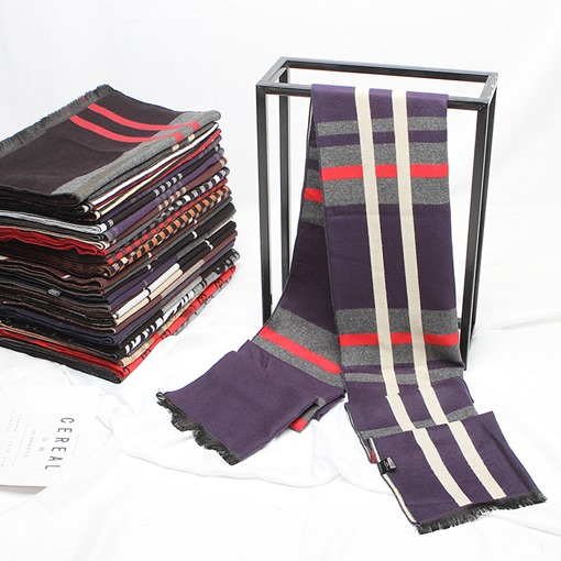 Casual Imitation Cashmere Plaid Scarves