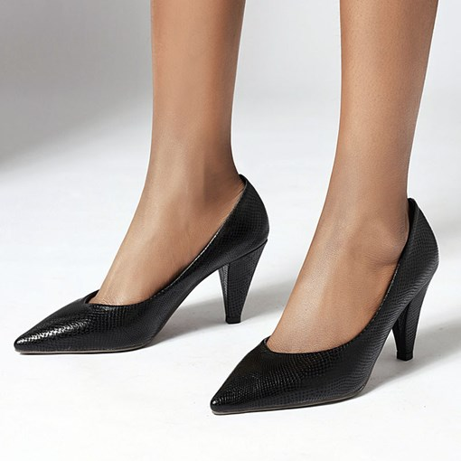 Pointed Toe Thread Slip-On Sexy Pumps