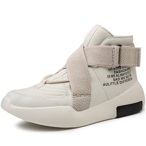 Velcro Sports High Top Men's Sneakers