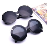 Poly Carbonate Fashion Round Sunglasses
