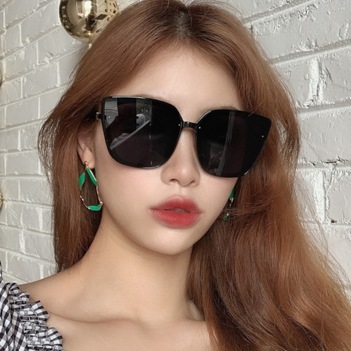 Fashion Cat Eye Poly Carbonate Sunglasses