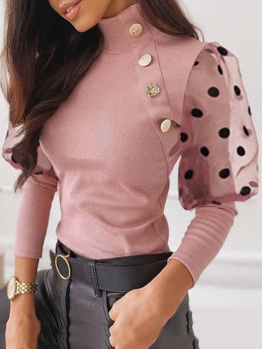 Button Knot Women's Sweater