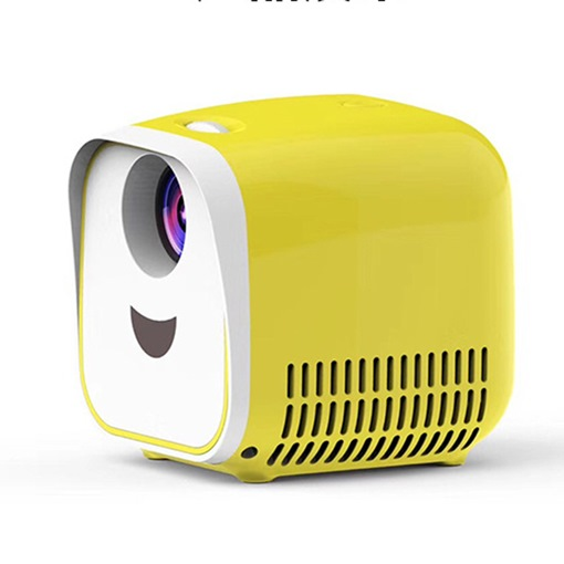 Projector Mini Portable Handheld Home Mini LED Projector Supports HD 1080P