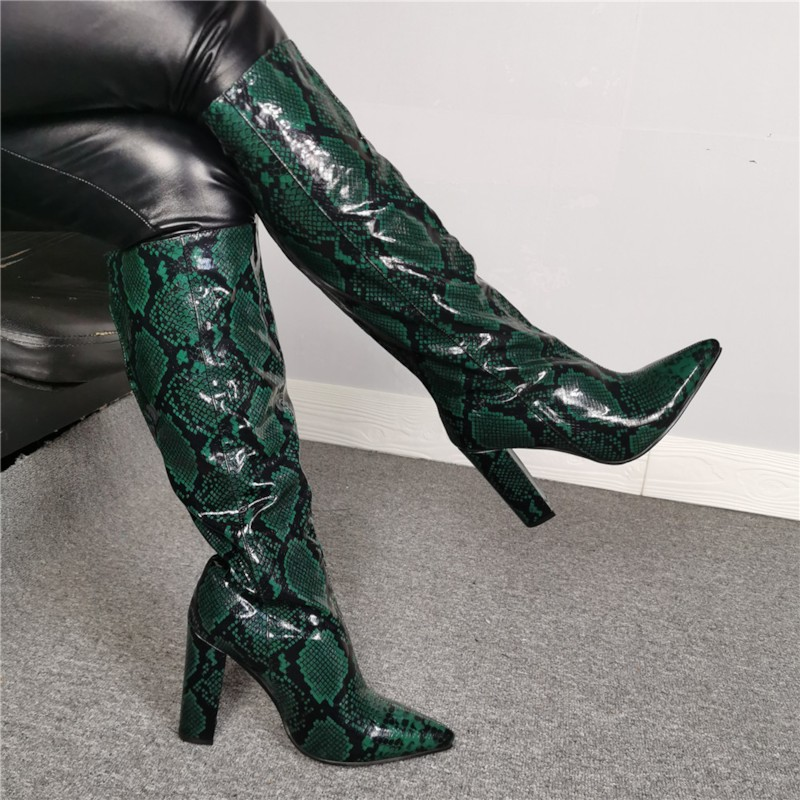 Point | Green | Knee | Boot | High | Toe