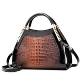Thread PU Alligator Tote Bags