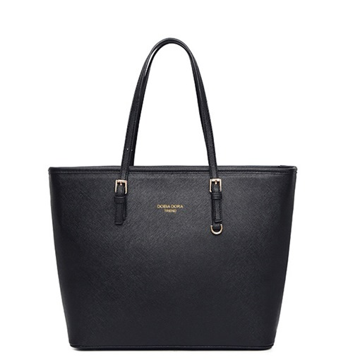 PU Thread Rectangle Elegant Tote Bags