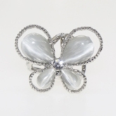 Alloy Sweet Butterfly Scarf Brooch