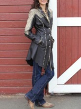 Button Mid-Length Slim Women's Trench Coat