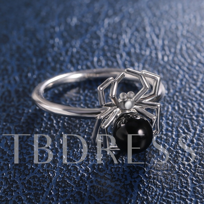 E-Plating European Spider Gift Rings