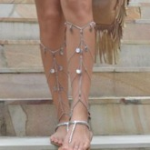 Vintage Female E-Plating Anklets