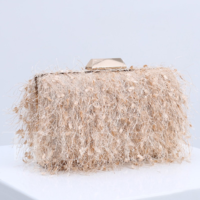 Banquet Rectangle Polyester Clutches & Evening Bags
