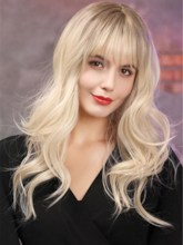 Wavy Capless Synthetic Hair with 22 Inches Wigs