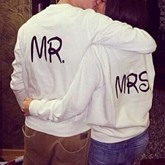 Simple Casual Letter Loose Couple's Hoodie