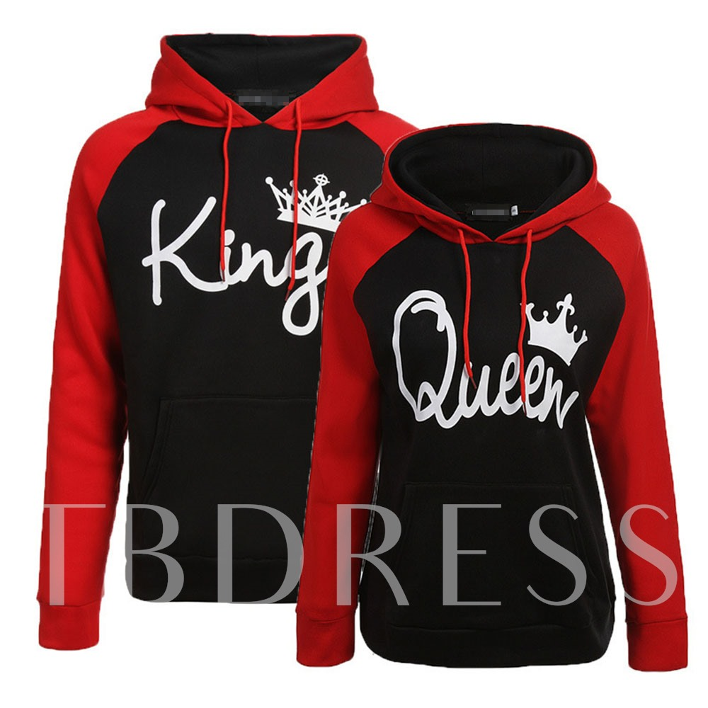 Hooded Casual Loose Sport Couple's Hoodie
