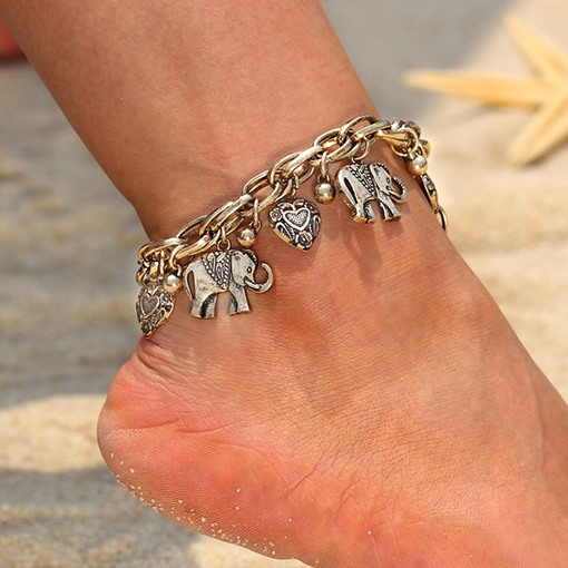E-Plating Animal Female Vintage Anklets