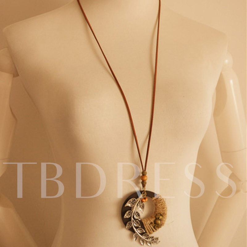 Vintage E-Plating Female Rope Chain Necklaces
