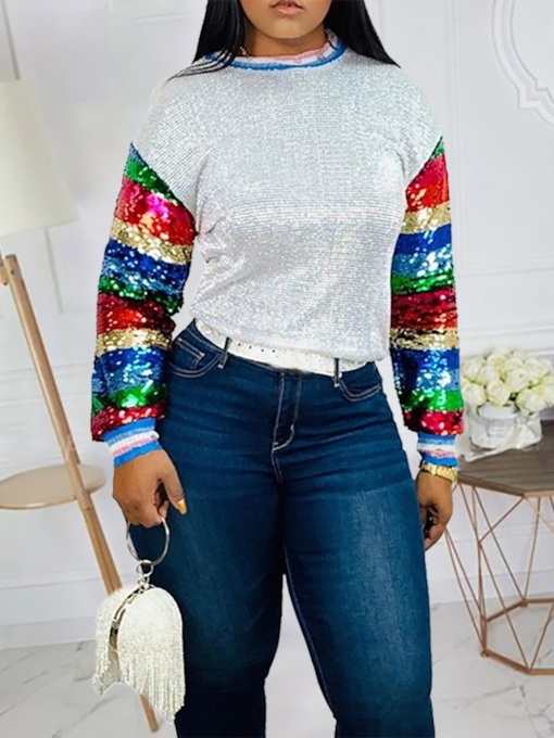 African Fashion Galaxy Sequins Women's Hoodie