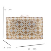 Banquet Rectangle Hasp Clutches & Evening Bags