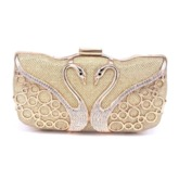 Rectangle Versatile Swan Clutches & Evening Bags