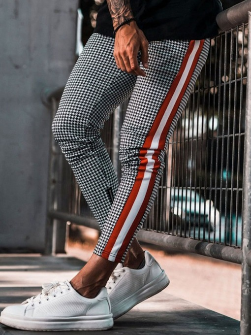 Print Pencil Pants Casual Men's Casual Pants