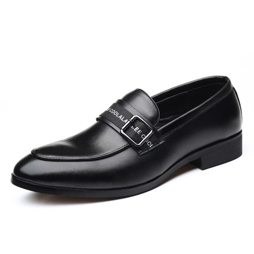 Low-Cut Upper Men's PU Leather Shoes
